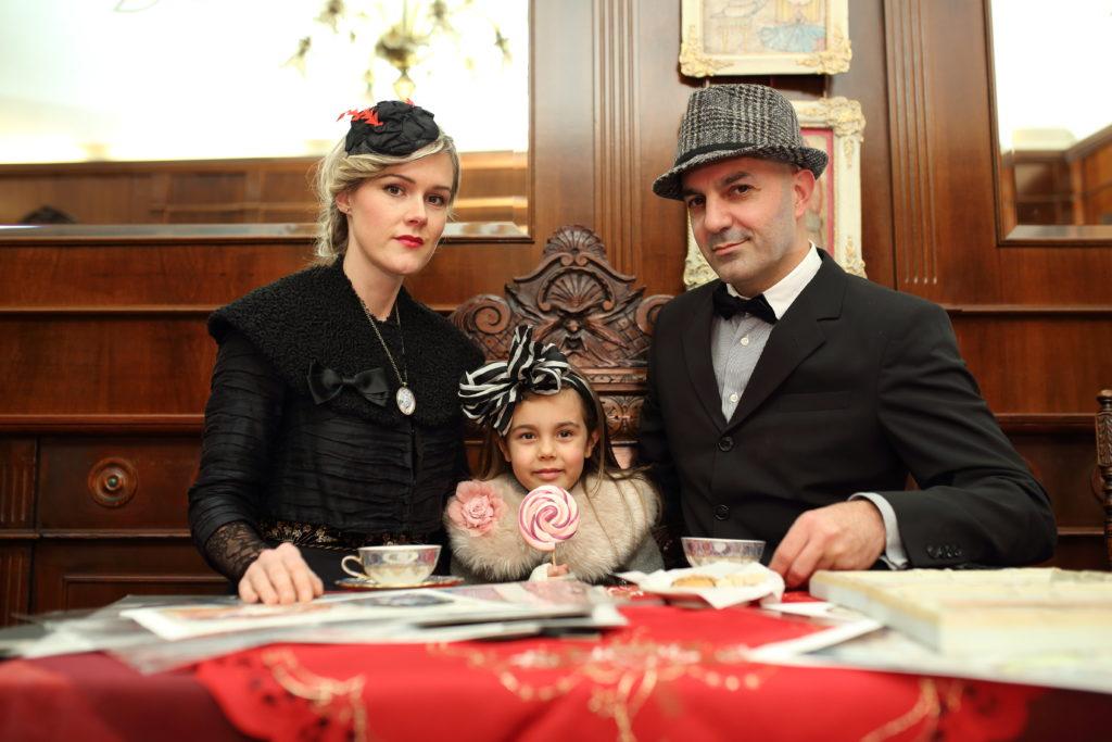 Sara, Freya e Gianni