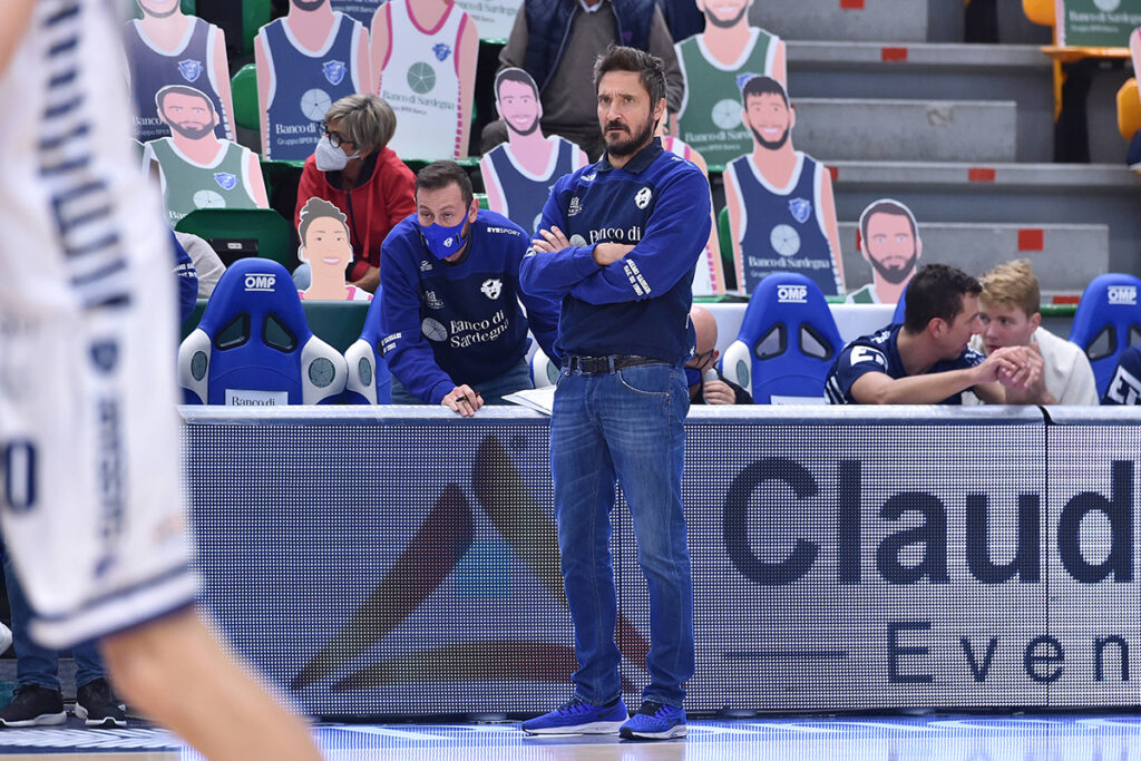 Coach Gianmarco Pozzecco. 📷 Luigi Canu