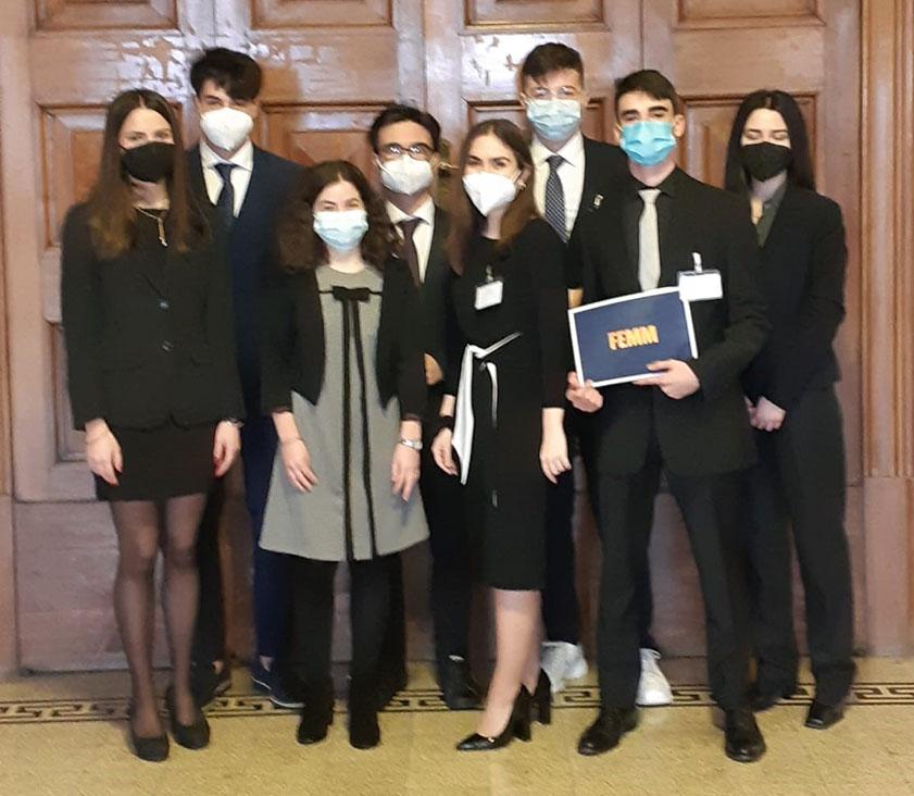 """Gli studenti del Liceo Azuni di Sassari per la """"best resolution"""" nel progetto """"Parlamento Europeo Giovani"""""""