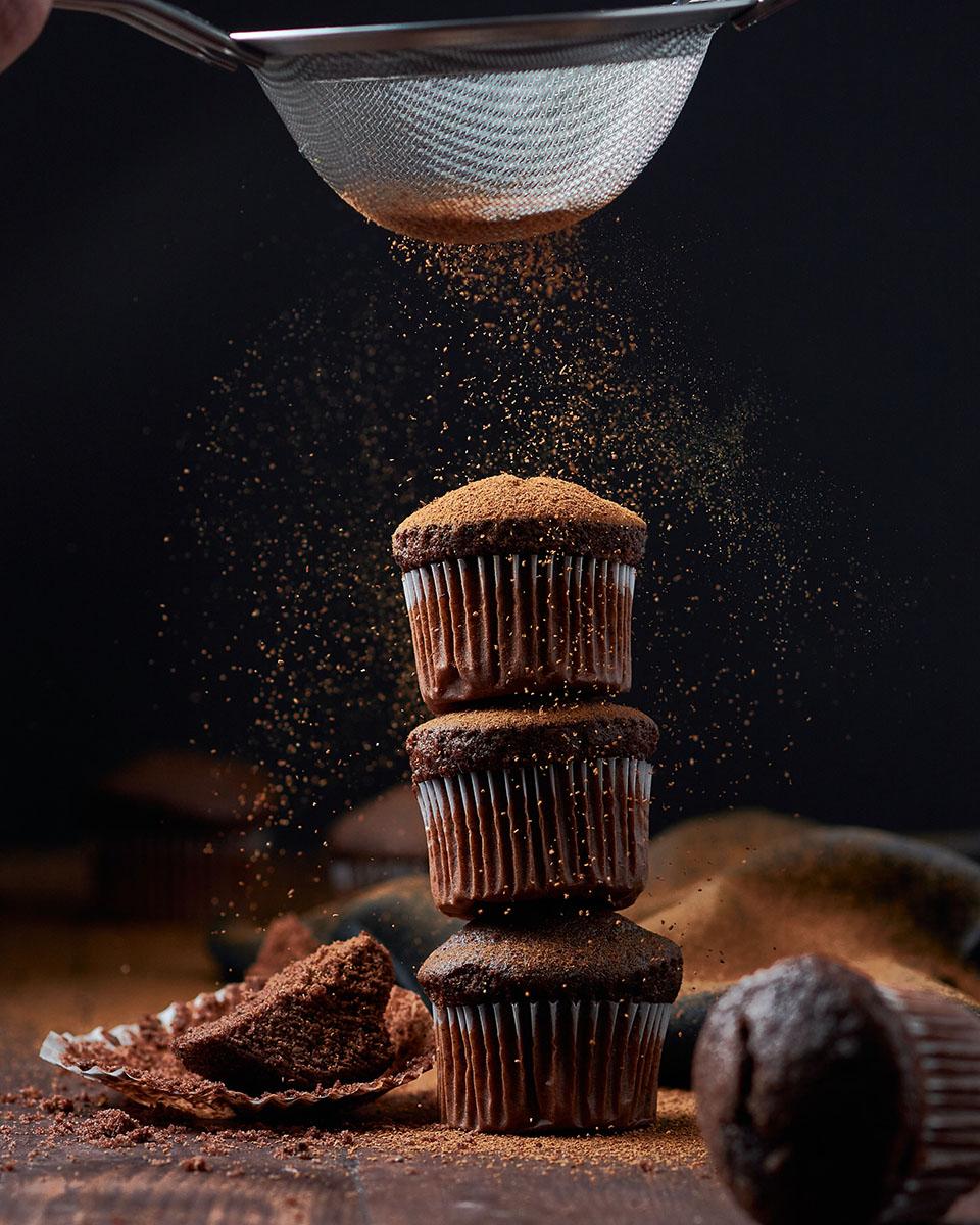 Muffin al cioccolato. 📷 Kobby Mendez | Unsplash