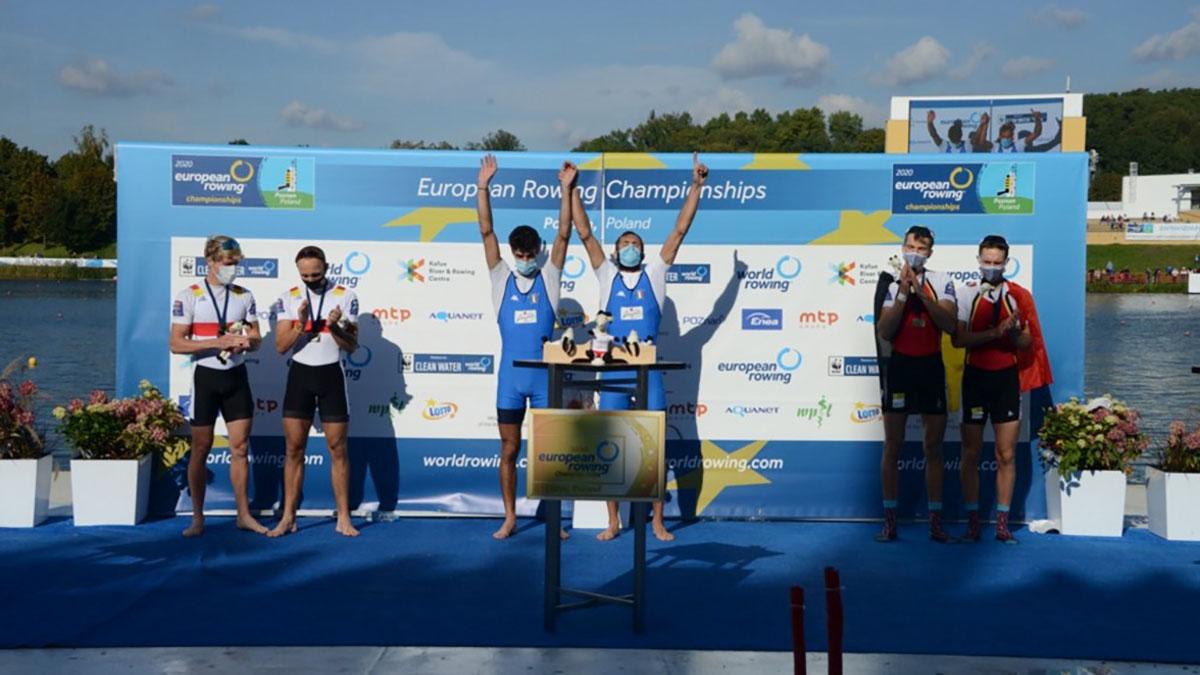 Stefano Oppo e Pietro Ruta, campioni d'Europa a Poznan 2020