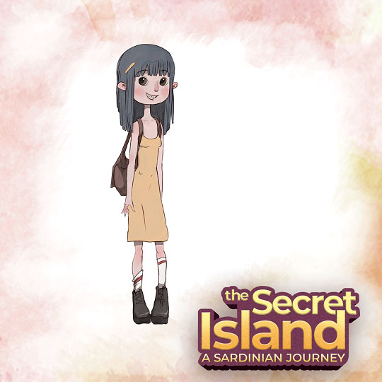 The Secret Island - Daniela Sketch